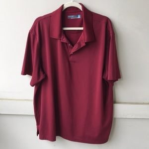 Roundtree & Yorke Red Polo